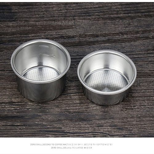 Pressureless American Stainless Steel Filter Coffee Filter Cup 51mm Filter Basket Filter Coffee Products Kitchen Accessories