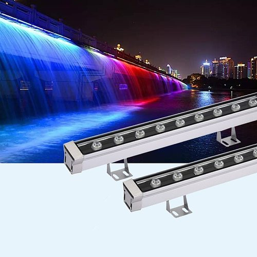 New 9W 12W 18W 24W 30W 36W LED Flood lamp Landscape Light Outdoor lights linear lamp floodlight wallwasher IP65 AC85-265V