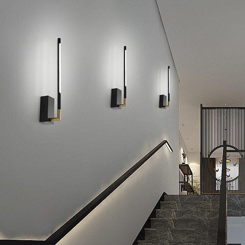 Modern Wall Sconce Lights lamp for bedside Corridor Bedroom Living room Creative Modern LED Sconce Wall lamp for corridor