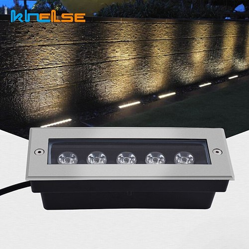 Waterproof Ground Light Outdoor Garden Floor Light LED lights Stairs Buried Underground Recessed Yard Wall Washer AC85-265V 12V