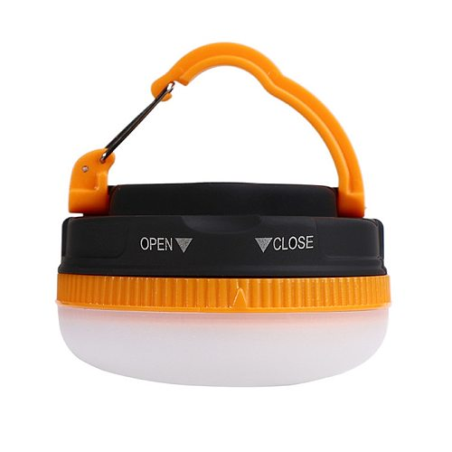 Battery powerd Mini Camping Lights with magnet hanging 3W LED Camping Lantern Tents lamp Outdoor Hiking Night Hanging lamp