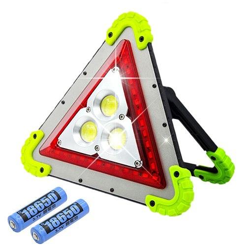 50W COB LED Floodlight LED Work Light Rechargeable 18650 Lithium Batteries Emergency Lamp For Repairing Fishing Protable Lantern