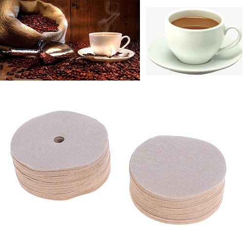 100pcs/pack High Quality Coffee Maker Replacement Filters Paper For Aeropress Coffee