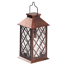 Solar Lantern,Outdoor Garden Hanging Lantern LED Flickering Flameless Candle Lights for Table,Outdoor,Party Decorative