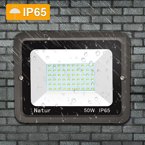 Outdoor floodlight 10W 20W 50W 100W 200W ip65 waterproof 200v LED street light landscape lighting, garden projector spotlight