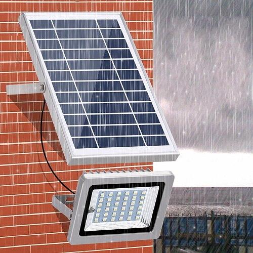 1pc 36LEDS Led Flood Light Solar Powered Waterproof IP65 Led Spotlight Floodlight Led Reflector Lamp for Garden Street Wall Lamp