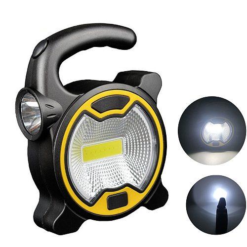 LED Flashligh Camping Lantern for Fishing Camping Flashlight LED Light Waterproof Tent Outdoor LED Flashlight Camping COB LED