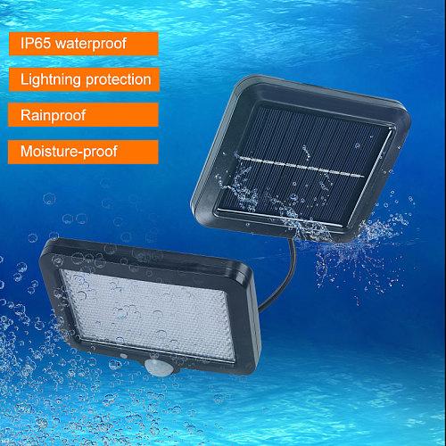 Solar Lamp 100LED Motion Sensor Solar Light Waterproof Garden Lamp Emergency Light Dropshipping