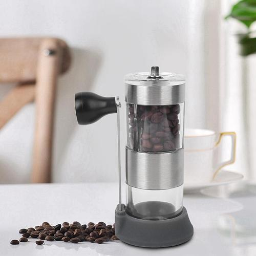 Coffee Bean Grinder Hand Cranking Manual Coffee Grinder Washable Adjustable Coffee Bean Grains Grinding Machine moedor de cafe
