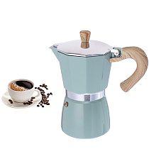 Aluminum Italian Moka Espresso Coffee Maker Percolator Stove Top Pot 150/300ML Kitchen Tools Stovetop Coffee Maker For Kitchen