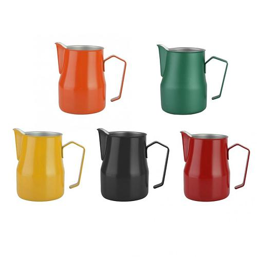 750ml Stainless Steel Milk Frothing Cup Coffee Pitcher Jug Latte Art for Coffee Shop Kitchen Coffee Accessories