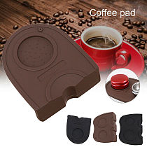 1 Pcs Coffee Mat Espresso Latte Art Pen Tamper Rest Holder Table Silicone Pad Coffee Pull Flower Cup Espresso Silicone Mat