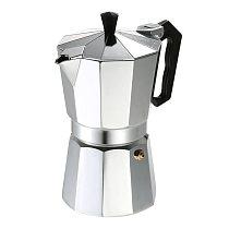 50ml 1 Cup Aluminum Coffee Pot 50Ml 1Cup Coffee Maker Espresso Percolator Stovetop Mocha Pot Electric Fashion Stove