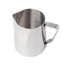 Silver Milk Frothing Pitcher Kitchen Anti Scald Latte Art Practical Gift Tool Jug Office Coffee Cup Barista With Scale