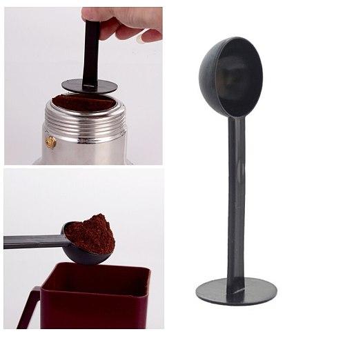 1Pc Durable 10g Coffee Bean Spoon Plastic Ground Tea Coffee Scoop Seal Dinnerware Coffeeware Sets Power Spoon Kitchen tools
