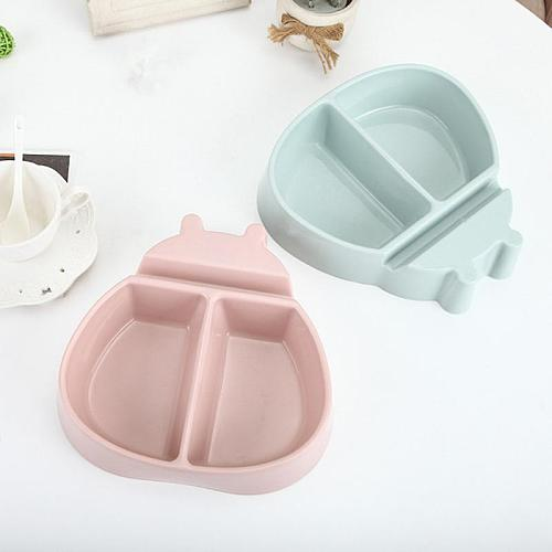 Fashion Plastic Fruit Dish Snacks Nut Melon Seeds Bowl Candy Plate Multifunctional Fruit Plate Breakfast Tray Home Kitchen Tray