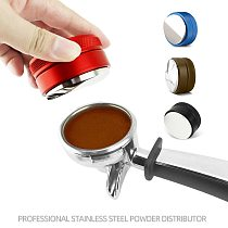 Adjustable 304 Stainless Steel Coffee Distributor Espresso Tamper 51/53/54/58/58.35mm Available For Most Portafilter