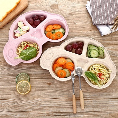 Baby Bowls Plate Tableware Children Food Container Placemat Dishes Infant food Feeding Bowl Child Kids Feed Plate
