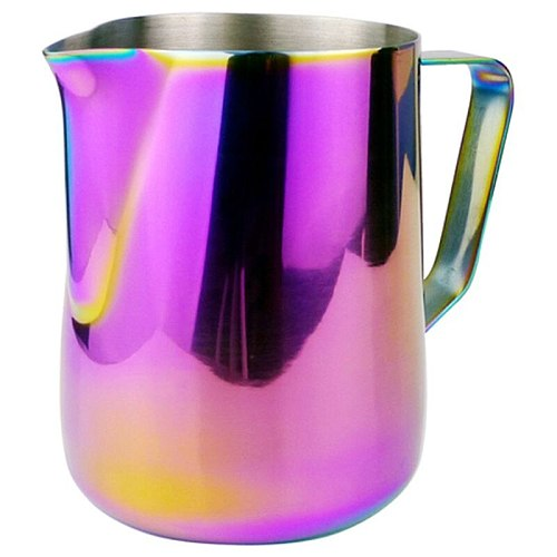 Milk Jug Stainless Steel Frothing Pitcher Pull Flower Cup Coffee Milk Frother Latte Art Milk Foam Tool Coffeeware
