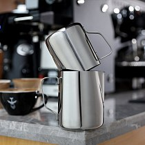 Stainless Steel Frothing Pitcher Craft Espresso Coffee Barista Latte Cappuccino Milk Cream Cup Frothing Jug Pitcher