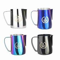 350/600ml Milk Frothing Espresso Coffee Frothing Pitcher Steel Kitchen Barista Craft Latte Non-stick Milk Frothing Jug