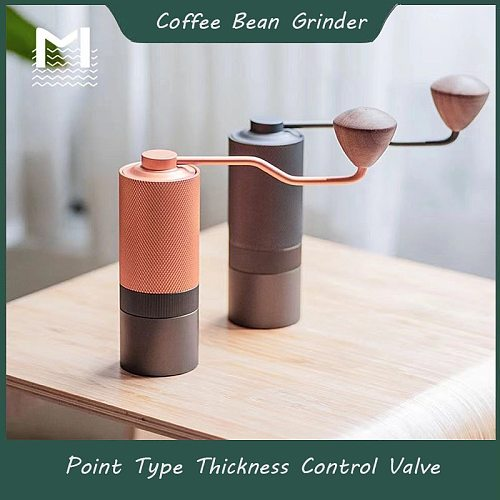 Manual Grinder Stainless Steel Coffee Grinders Portable Coffee Bean Grinder Aluminum Manual Coffees grinders MAVO