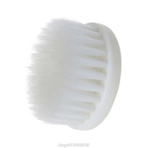 60mm White Soft Drill Powered Brush Head For Cleaning Car Carpet Bath Fabric New  D22 20 Dropshipping