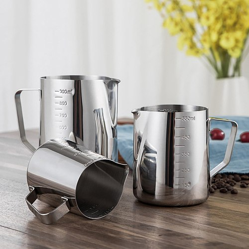 Portable Cup Travel Tumbler Office Water Mugs 350/600/1000ML Stainless Steel DIY Coffee Jug Milk Frothing Craft Pitcher Cup