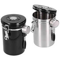 Kitchen Coffee Accessories Coffee Jug Coffee Bean Container with Exhaust Valve Tea Leaf Storage Canister for Kitchen Use milk