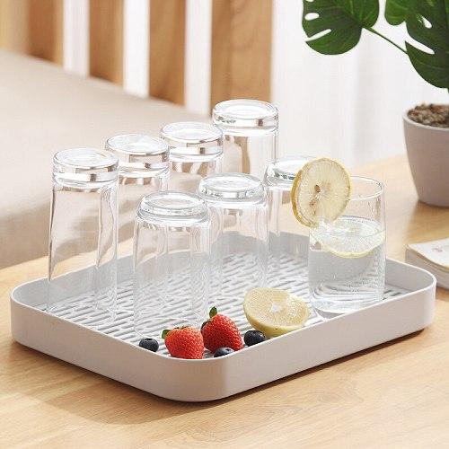 Double Layer Dish Drainer Plate Vegetable Fruit Tray Baby Bottle Storage Drying Rack Washing Holder Kitchen Bathroom Organizer