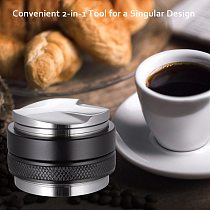 304 Stainless Steel Coffee Tamper 40MM/51MM/57MM Coffee Distributor Coffee Powder Hammer Customized Coffee Accessories