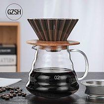 Coffee Maker V60 Coffee Set Ceramic V60 Coffee Filter Cup Cloud Pot Coffee Coffeepot Multi-Color Coffee Funnel