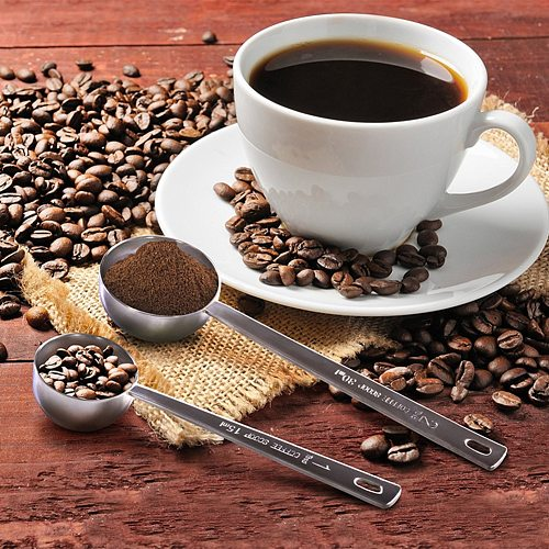 15ml/30ml Long Handle Stainless Steel Milk Coffee Powder Scoop Measuring Spoon