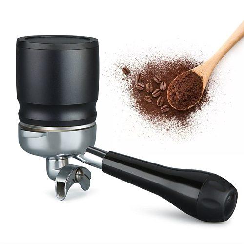 Coffee Tamper Intelligent Dosing Rings 58mm Coffee Handle Powder Receiver Bowl 87HA