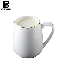 European Milk Jug Ceramic Creamer Cup Coffee Pot Juice Kettle Coffee Pitcher Barista Craft Milk Frothing Mug Coffee Juice Pot