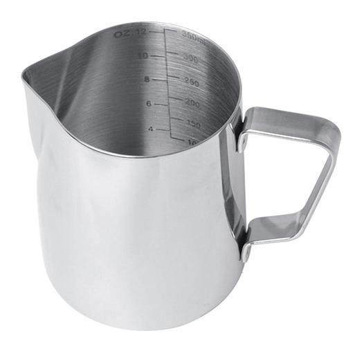 350/580ml Stainless Steel Milk Frothing Jug Espresso Coffee Steaming Pitcher Kitchen Coffee Decoration Tool