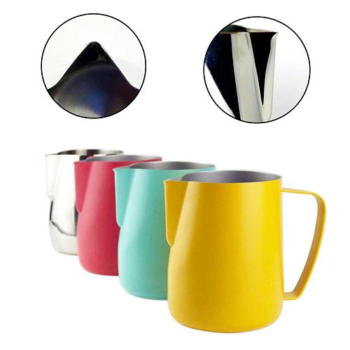 Stainless Steel Milk Pitcher Milk Frother Milk Jug Foamer Mugs Italian Latte Art Coffee Maker Jug Frother Cup 350/600Ml