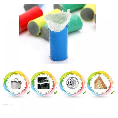 Scrubber Brush Drill Brush Kit Plastic Round Cleaning Brush For Carpet Glass Car Tires Nylon Brushes