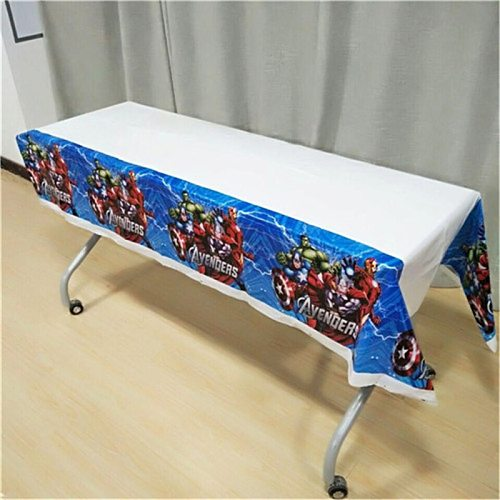 The Avengers Birthday Party Supplies Disposable Tablecloth Kids Birthday Decoration Baby Shower For Boys 108x180cm