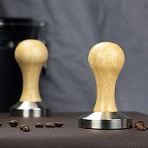 Powder Tamper Handmade Coffee Pressed Powder Hammer Espresso Maker Cafe Barista Tools Machine Accessories Tampers