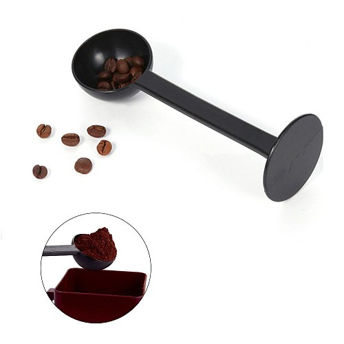 High Quality Coffee Espresso & Tea Spoon Measuring Tamping Scoop Cold Brew Coffee Tamper For Coffee Accessories Tools