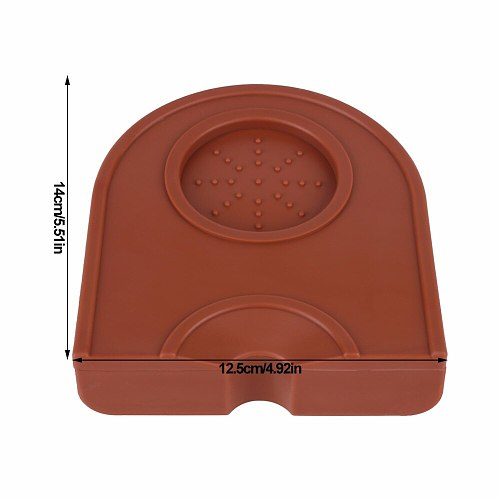 Coffee Grind Silicone Mat Coffee Pad Manual Coffee Latte Art Pen Tamping Holder Silicone Pad Mat Home Coffee Accessories