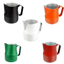 Stainless Steel Coffee Cup Milk Jug Frothing Pitcher Pull Flower Cup Barista Coffee Milk Frother Latte Art Milk Foam Coffeware