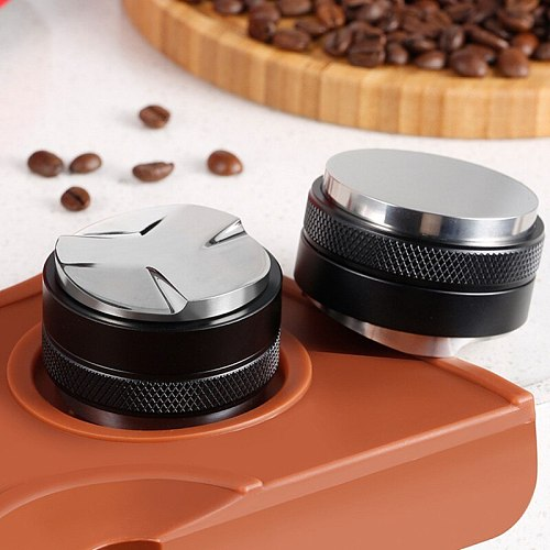 3 Sizes Coffee Distributo Leveler Tool Coffee Distribution Tool Adjustable Depth Both Sides,Professional Espresso Hand Tampers