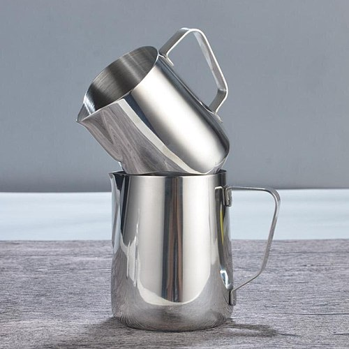 3Sizes Stainless Steel Milk Frothing Jug Espresso Coffee Mug Pitcher Barista Craft Coffee Cappuccino Cups Latte Pot Kitchen Tool