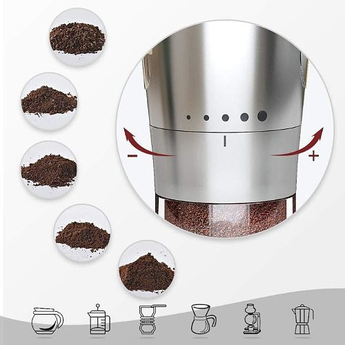 Portable Manual Coffee Grinder Stainless Steel Ceramic Grinding Core Mill Beans Manual Coffee Grinders