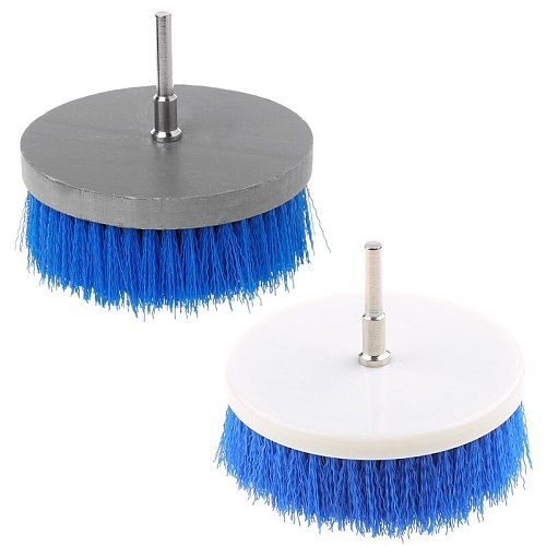 100mm Electric Drill Powered Scrub Heavy Duty Cleaner Brush For Cleaning Carpet Sofa Wooden Furniture P9YB