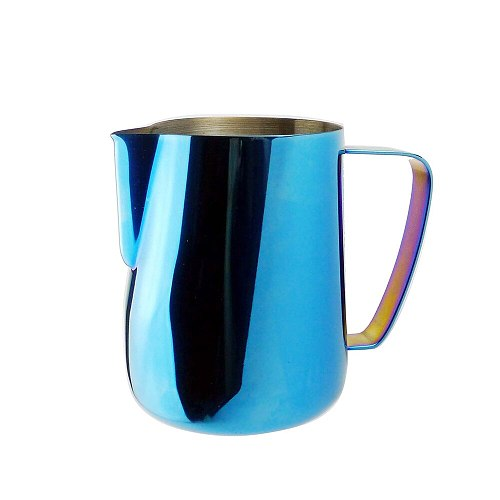Milk Steaming & Frothing Pitcher Stainless Steel Non-stick Milk Jug Pull Flower Cup Perfect For Coffee Cappuccino Latte Art