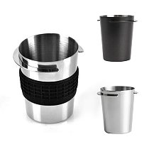 58mm Espresso Machine Coffee Sniffing Supplies Cup Stainless Steel Coffee Dosing Cup Powder Feeder Part For Espresso Machine