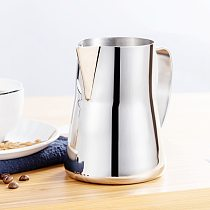 Stainless Steel 20oz 600ml Milk Frothing Pitcher Milk Jug Professio Espresso Coffee Barista Latte Cappuccino Milk Cream Cups
